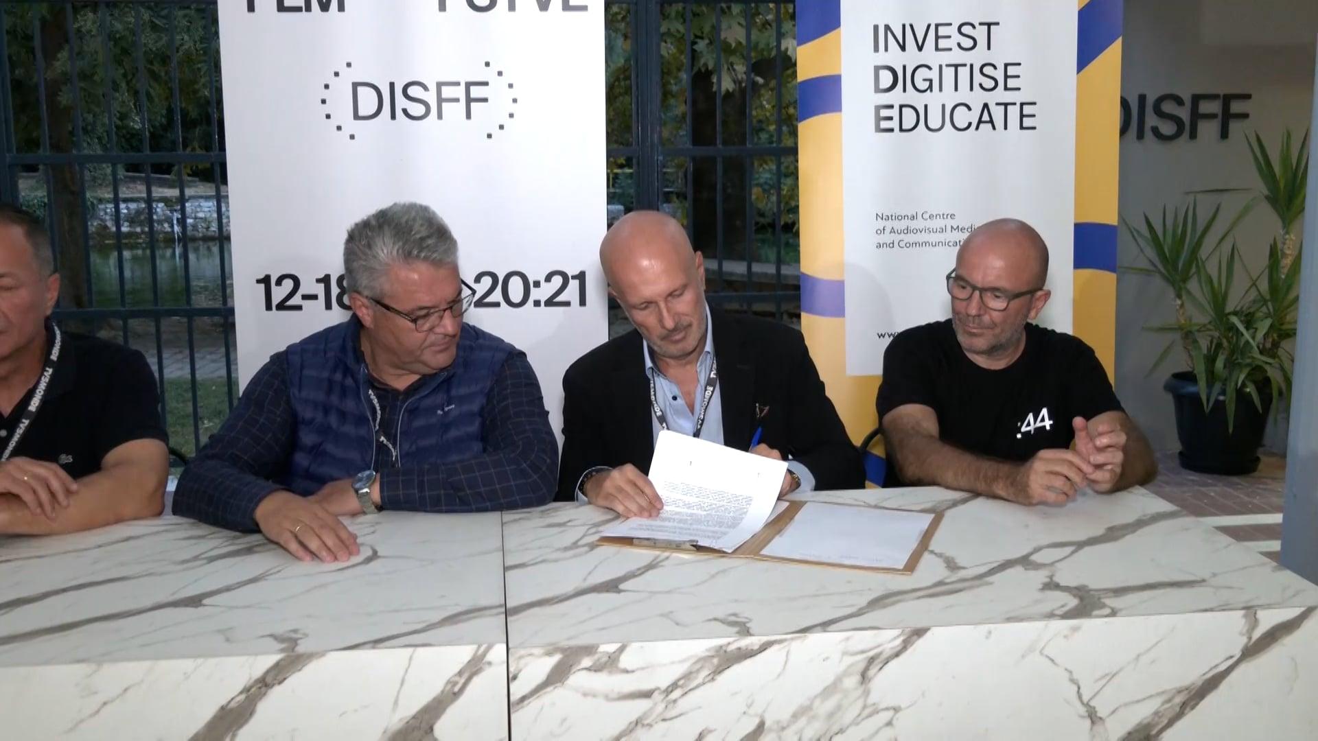 ΕΚΟΜΕ Φεστιβάλ Δράμας – Υπογραφή συμφώνου συνεργασίας
