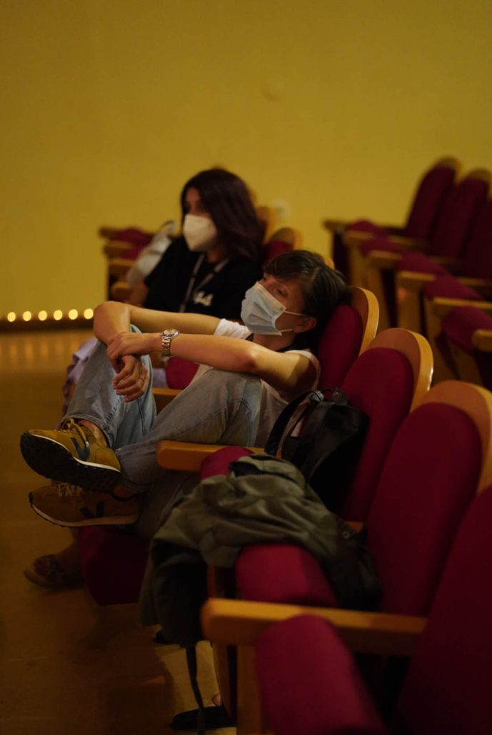 Masterclass με τον σκηνοθέτη Μενέλαο Καραμαγγιώλη